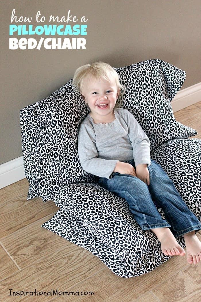 Pillowcase Bed / Chair