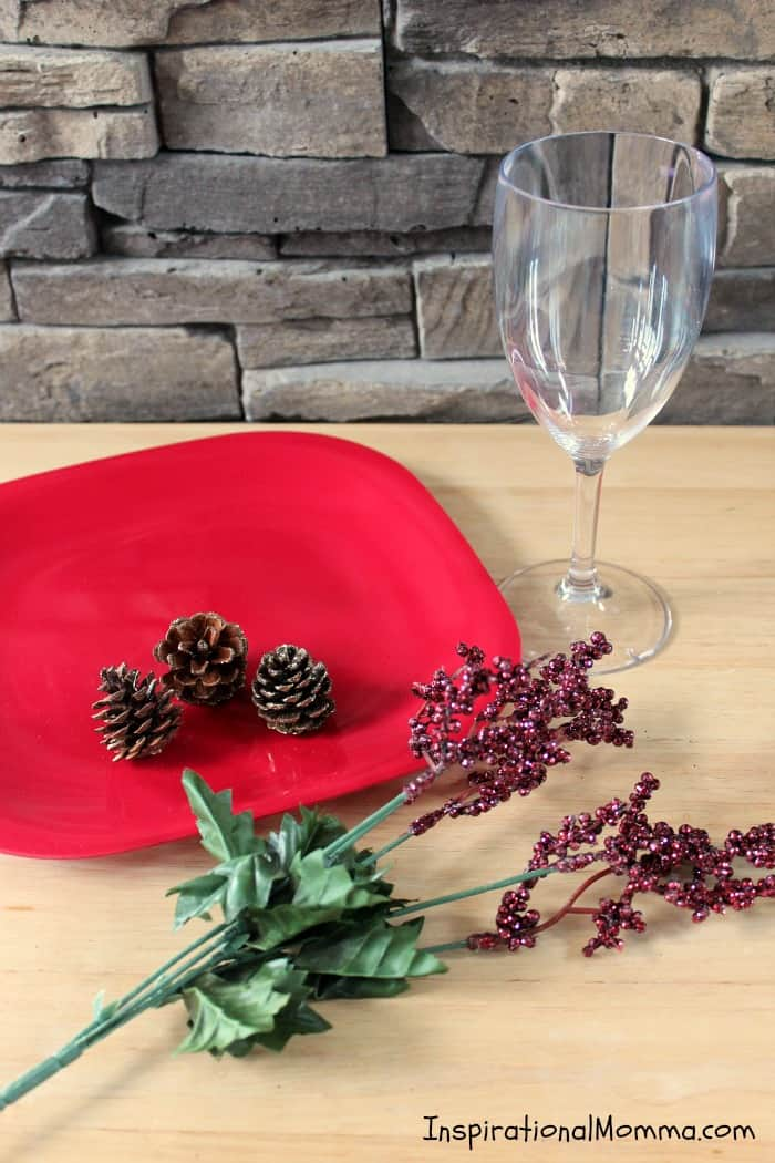 This inexpensive DIY Christmas Platter is easy to make and does an amazing job of creating the perfect atmosphere to entertain and serve your guests.