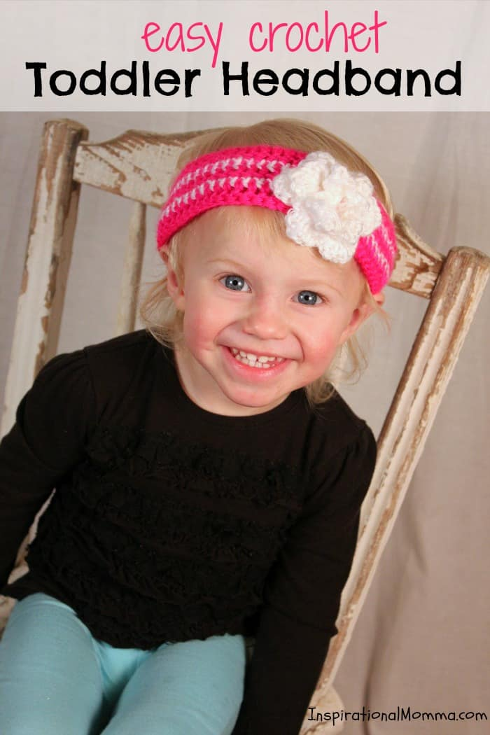This adorable headband is the perfect accessory for a little lady in your life. The pattern is simple, even for those just starting to crochet.
