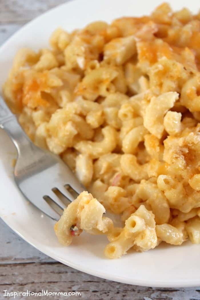 This creamy and delicious Crab Mac & Cheese will have you running back for seconds. Simply amazing!