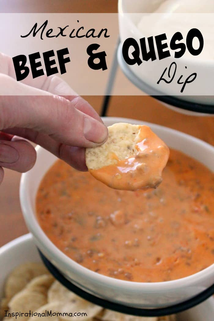 Mexican Beef & Queso Dip