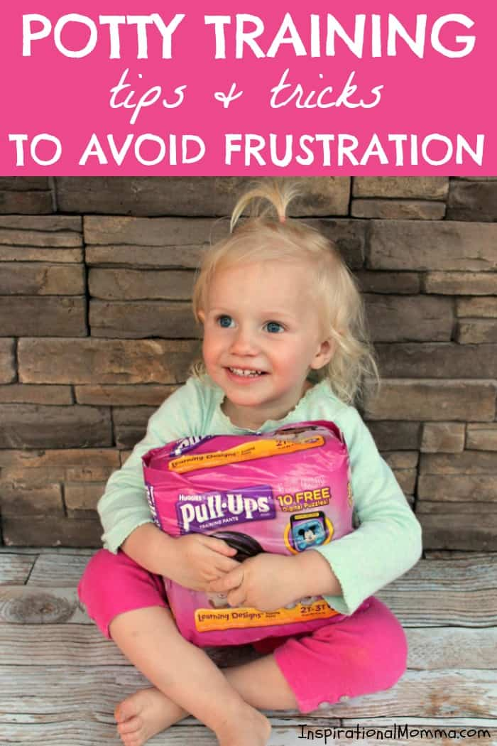 Check out these Potty Training Tips & Tricks to Avoid Frustration! Get yourself prepared to attack this adventure in a way that will guarantee success!