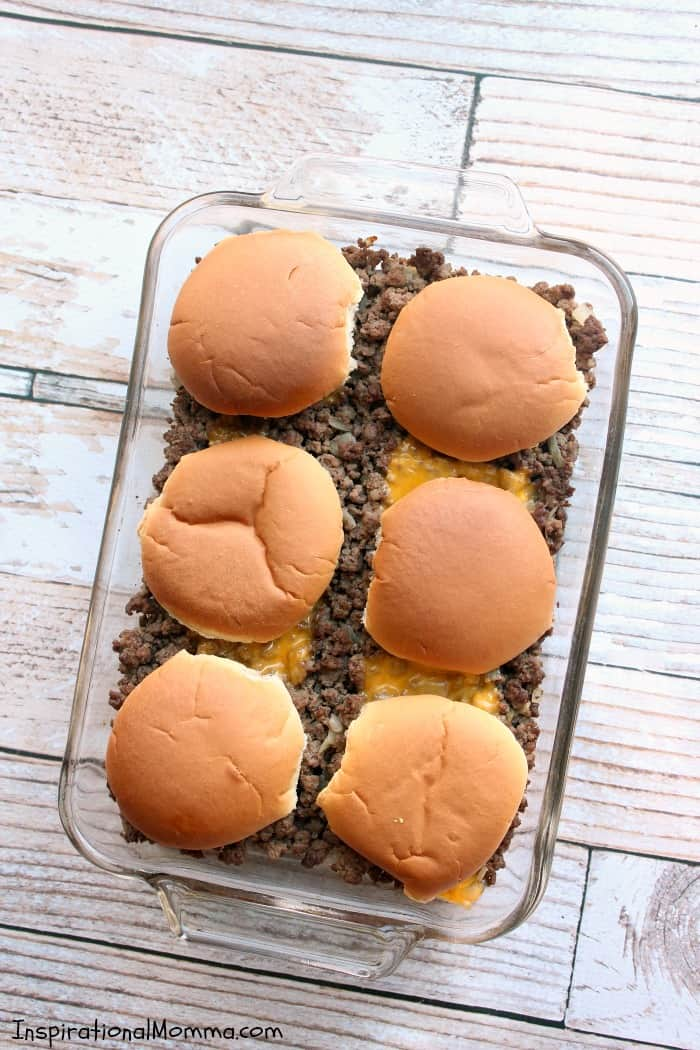 With only 3 main ingredients, this Easy Cheeseburger Bake takes just 30 minutes to make and is a delicious twist on a favorite meal.