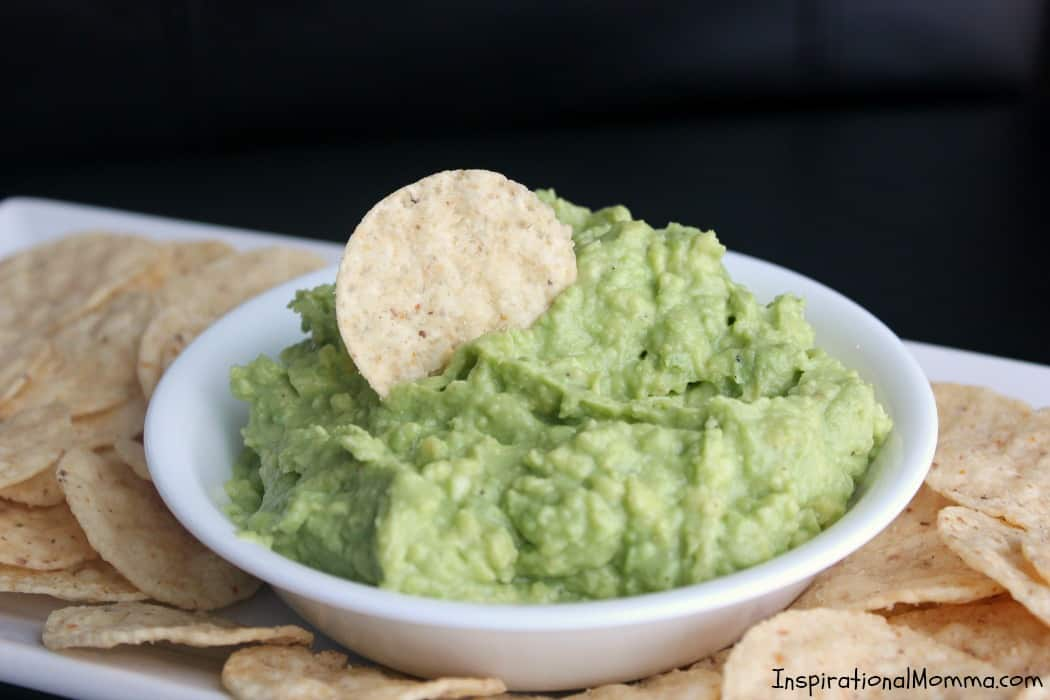 Fresh and healthy Homemade Easy Guacamole is both simple and delicious! A perfect appetizer that you will find yourself making again and again!
