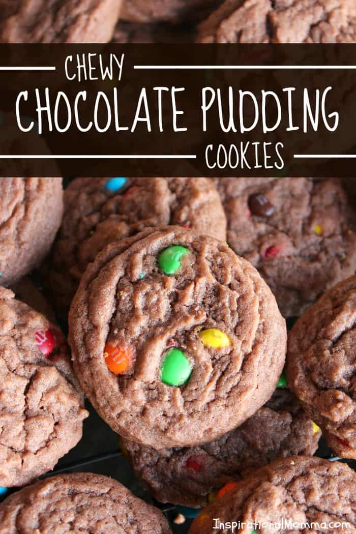 Chewy Chocolate Pudding Cookies
