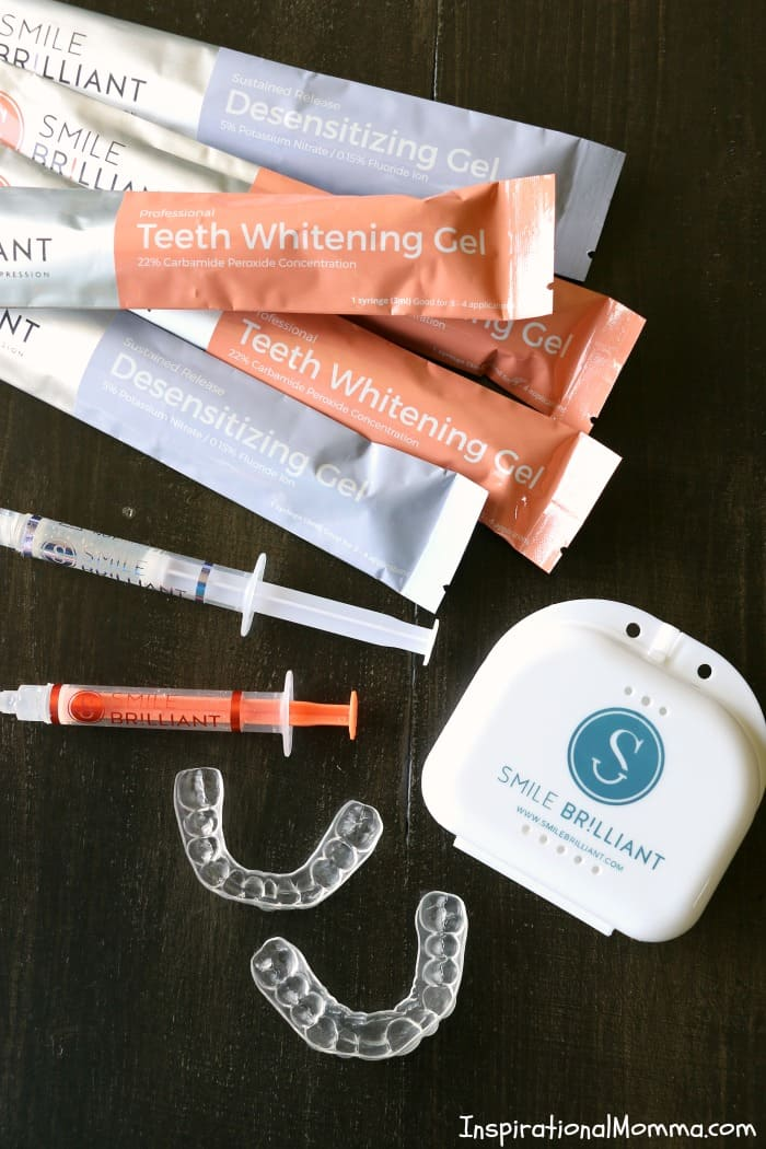 Smile Brilliant is a professional quality, at-home Easy Teeth Whitening System for Moms on a Budget that will deliver results you have been longing for!