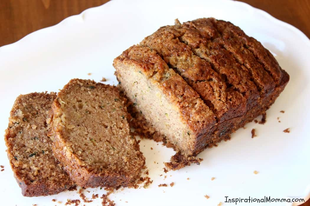 This Homemade Zucchini Bread is a family recipe that has been passed down for generations! Sweet, moist, and delicious, it will quickly become your favorite!