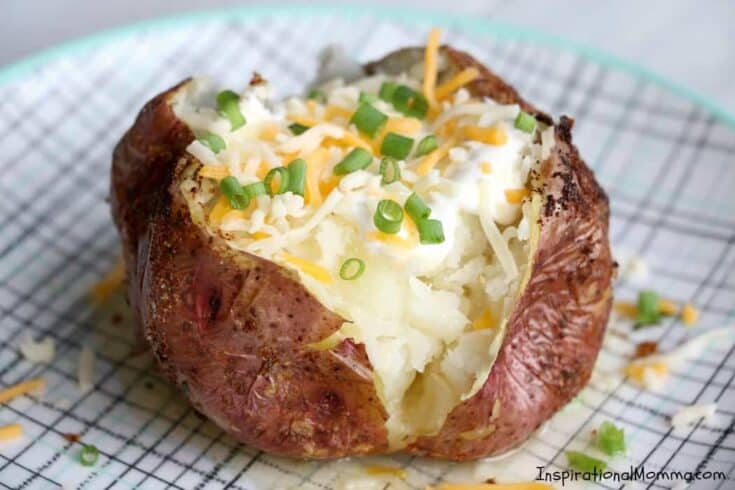 Easy Air Fryer Baked Potatoes