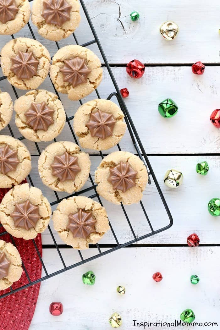 Traditional Peanut Butter Blossoms
