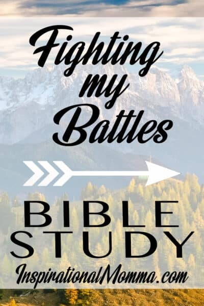 Build your faith with this Bible Study. Learn how to let God fight your battles!
