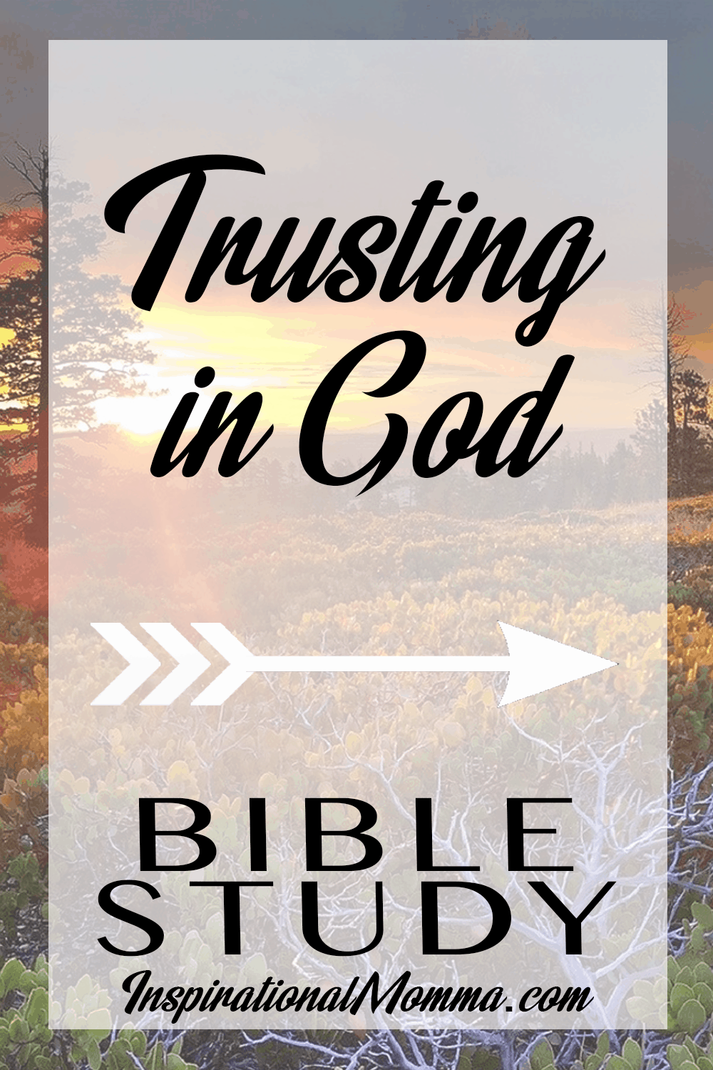 As we face life's challenges, we must continue Trusting in God. His Word and this Bible study reminds us that He is in control in every situation. #Bible #Biblestudy #buildingfaith #faith #Godstiming #InspirationalMomma #God