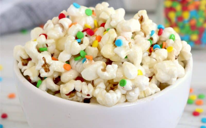 Instant Pot Sticky Popcorn
