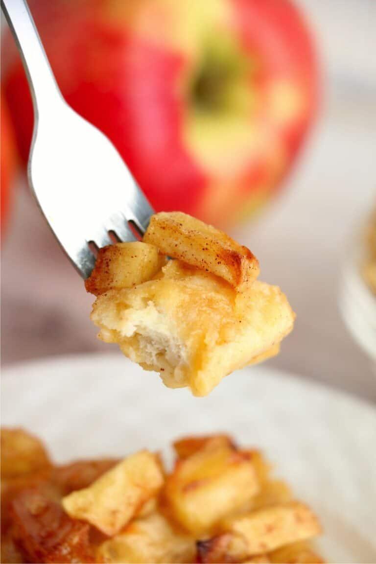 Air Fryer Apple Danish