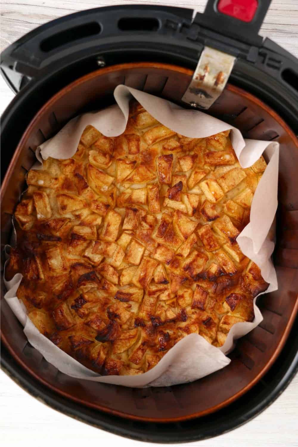 apple danish made in the air fryer