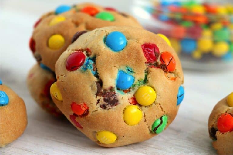 Air Fryer Monster Cookies
