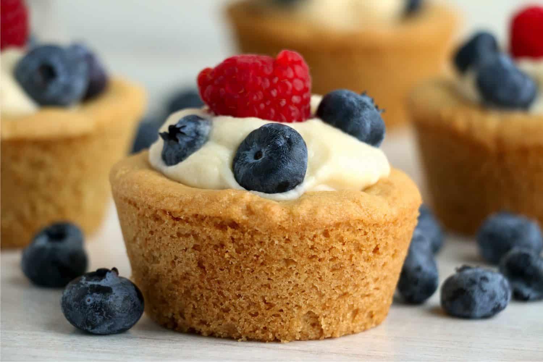 Cheesecake Sugar Cookie Cups